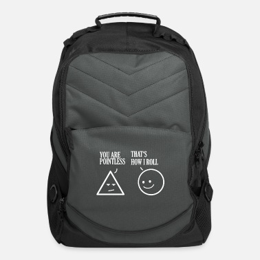 Geometry Math geometry quote gift - Computer Backpack