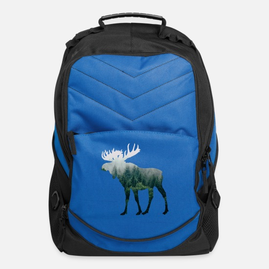 Moose Bags & Backpacks - Moose - Computer Backpack royal blue