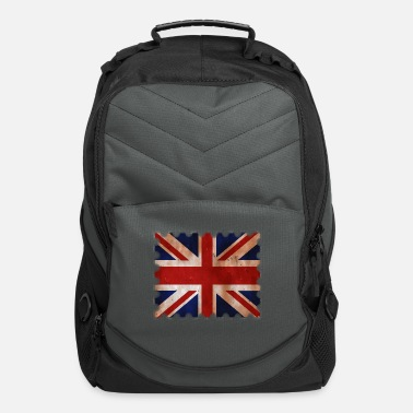 Union Jack Great Britain retro Design - Computer Backpack