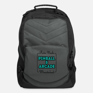 Video Game Retro nerds pinball arcade Münsterland gift - Computer Backpack
