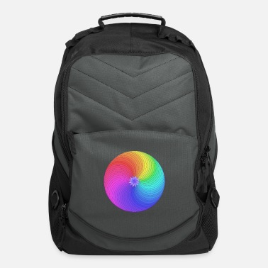 Healing Circle mandala - Computer Backpack