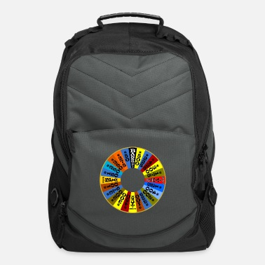 Wheel Wheel of Fortune logo Shirt - Computer Backpack