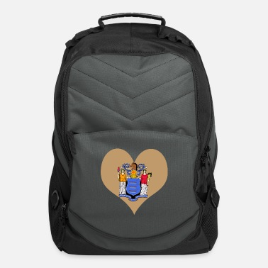 Jersey Heart New Jersey Love country America USA gift - Computer Backpack