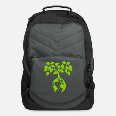 Ecology earth tree - Computer Backpack