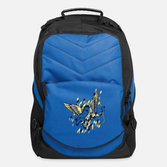 Love Bags & Backpacks - Cupid Greek God - Computer Backpack royal blue
