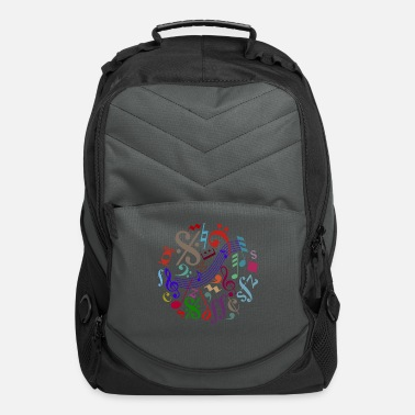 Music Note music signs - music notes - Computer Backpack