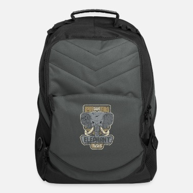 Tusk Save elephant tusk - Computer Backpack