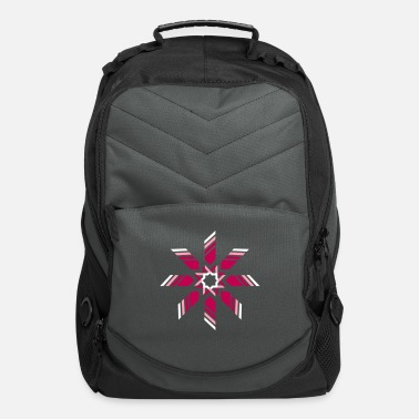 Ornament minimalistic star - Computer Backpack