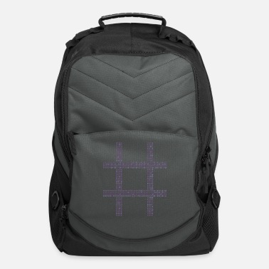 Hash Hash Tag - Computer Backpack
