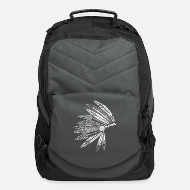 Stylish Headdress of a chief - Computer Backpack