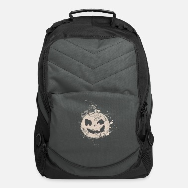 Ghost Halloween pumpkin - Computer Backpack