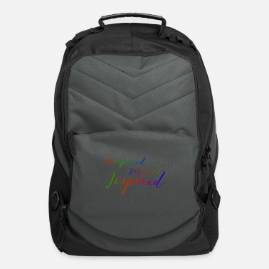 Primal Be surprised Be moved Be inspired Be creative - Computer Backpack
