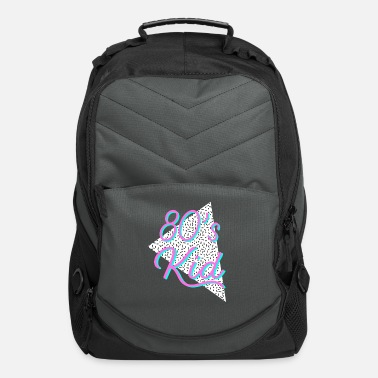 80s 80s Kid Memphis Pattern Neon Colors - Computer Backpack