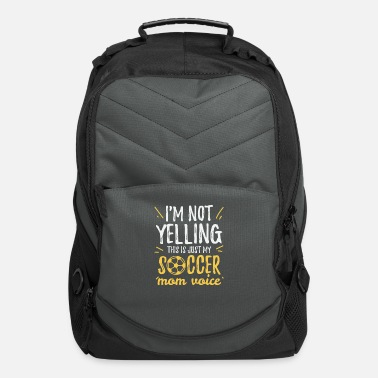 Football Team Football Mother Gift Mother's Day Footballer Sayin - Computer Backpack