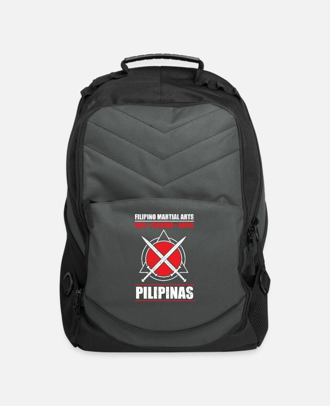 Martial Arts Bags & Backpacks - Filipino Martial Art Kali Eskrima Arnis - Computer Backpack charcoal