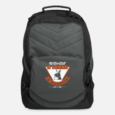 German Shepherd If You Want A Friend In Washington Take A Dog - Computer Backpack