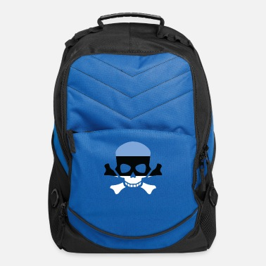 Country ESTONIA SKULL TSHIRT- estonia - Computer Backpack