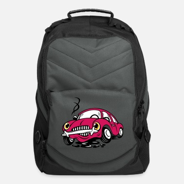 Rarity Broken Old Cartoon Car - Computer Backpack