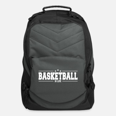 Ball Sport basketball is life 1 - Computer Backpack