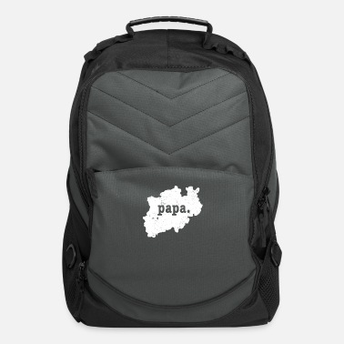 Rhine North Rhine Westphalia Germany Shirt Father Papa - Computer Backpack
