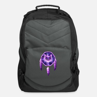 Dream Catcher PURPLE CAT DREAM CATCHER - Computer Backpack