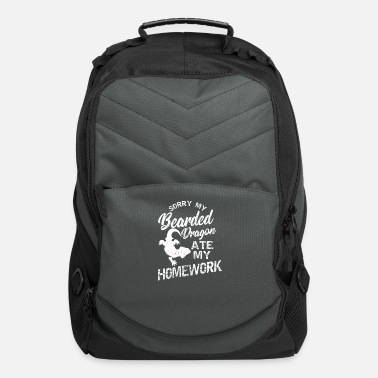 Gawkclothing Funny Lizard Ate My Homework Gift - Computer Backpack