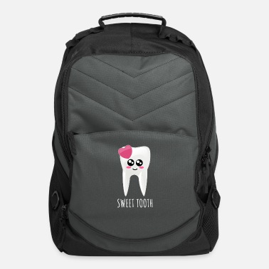 Sweet Tooth Sweet Tooth Cute Tooth Pun - Computer Backpack