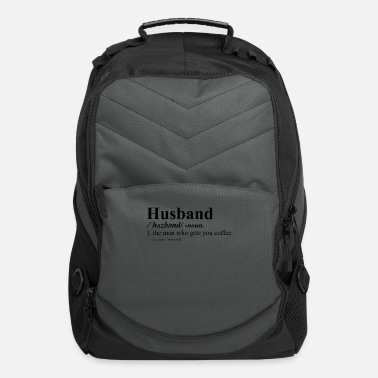 Husband Husband Funny dictionary definition - Computer Backpack