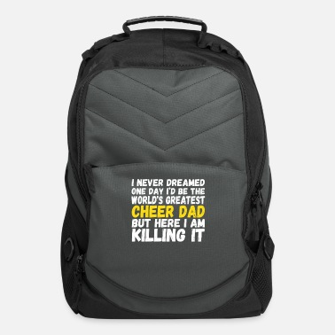 Cheer Dad Worlds Greatest Cheer Dad Cheer Leader Dad Shirt - Computer Backpack