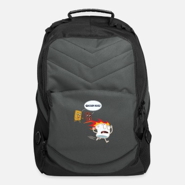 Campfire Marshmallow S'mores Marshmallow - Camping Roasting Bonfire - Computer Backpack