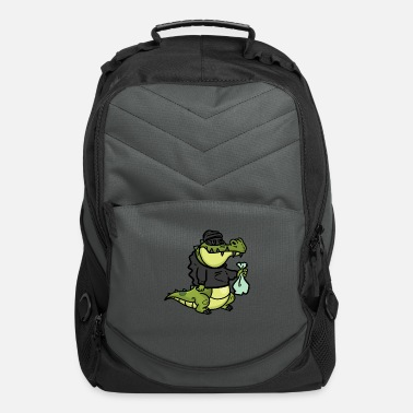 Steal Alligator is to Steal - Computer Backpack