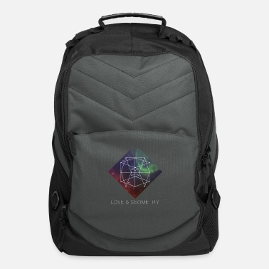 Geometry Sacred Geometry - Love And Geometry - Computer Backpack