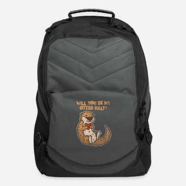 Valentine's Day Otter Valentine's Day - Computer Backpack