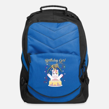 Kindergarten 8th birthday Birthday Girl 8 years old born 2011 - Computer Backpack