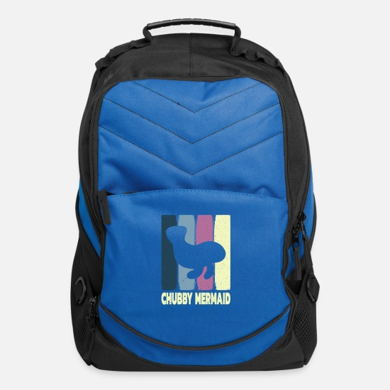 Production Year Bags & Backpacks - Chubby Mermaid - Computer Backpack royal blue