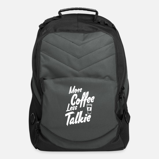 Man Bags & Backpacks - Coffee - Computer Backpack charcoal