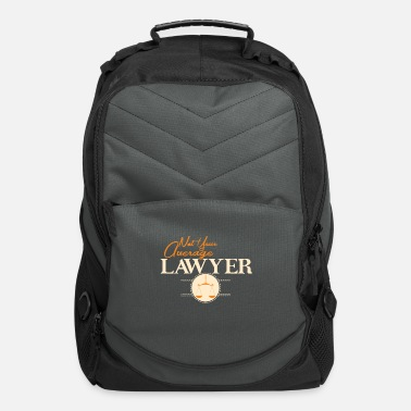 Not Average Average Lawyer Average Lawyer Shirt - Computer Backpack