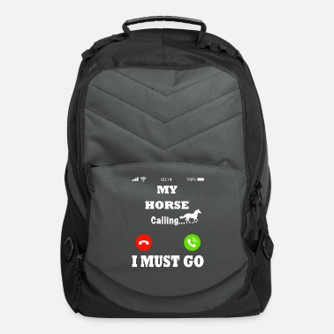 My horse is calling - Computer Backpack