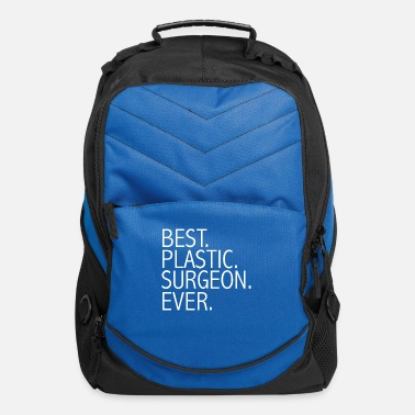 Plastic Best Plastic Surgeon Ever Career Graduation - Computer Backpack