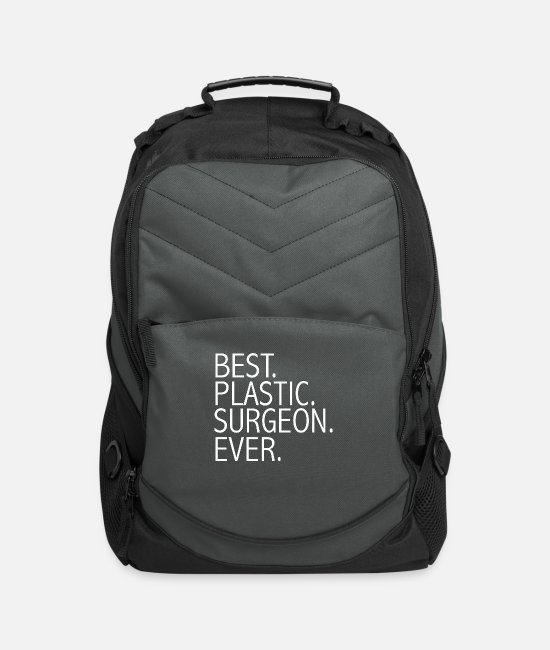 Graduation Bags & Backpacks - Best Plastic Surgeon Ever Career Graduation - Computer Backpack charcoal