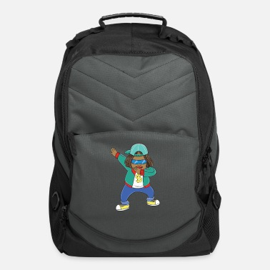 Rapper Funny dabbing Rapper print - perfect gift - Computer Backpack