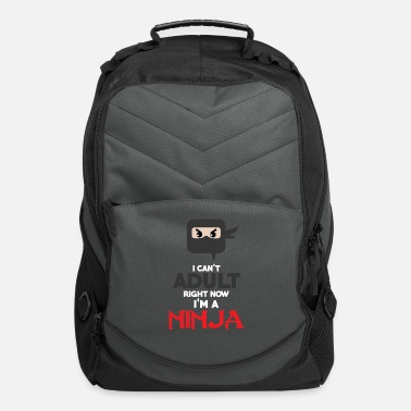 Adult ninja - Computer Backpack