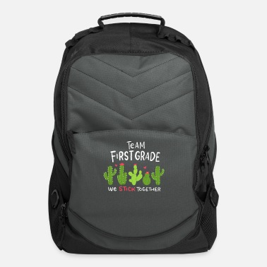 First Grade Cactus First Grade - Computer Backpack