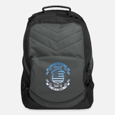 Steal Police hero handcuffs America USA gift - Computer Backpack