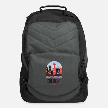Cologne Cologne Germany Skyline - Computer Backpack