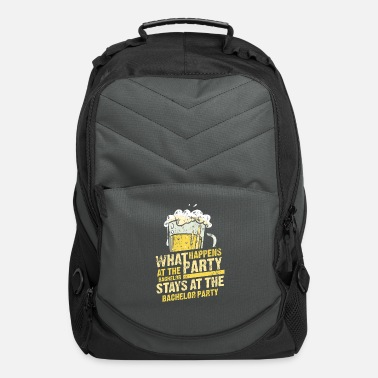 For Him Bride Groom Marriage stage nights Gift - Computer Backpack