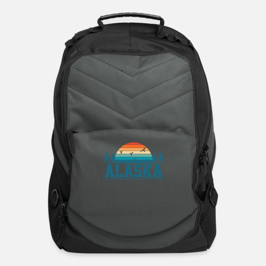 Alaska Bags & Backpacks - Alaska Alaska - Computer Backpack charcoal