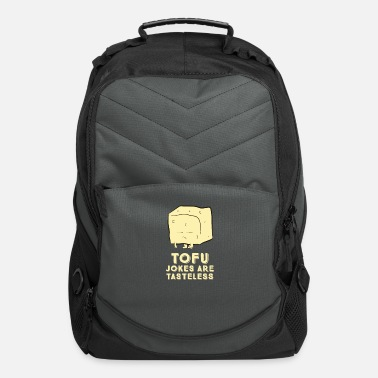 Gawkclothing Tofu Joke is Tasteless Gift - Computer Backpack