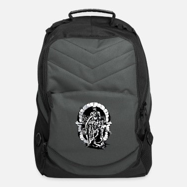 Corpse Grim Reaper | Angel of Death | Samurai Skeleton - Computer Backpack
