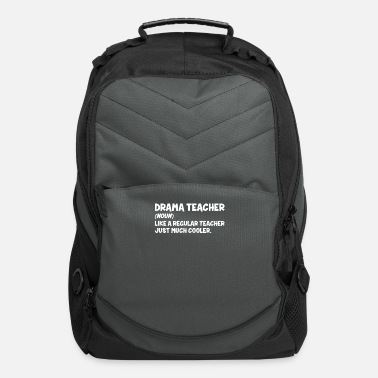 Theatre Drama Teacher Definition | Theatre Musical Theater - Computer Backpack